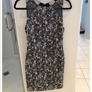Alice + Olivia Fitted Cocktail Dress